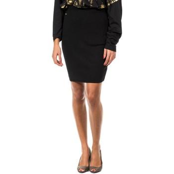 Vêtements Femme Jupes Met jupe en tricot Noir