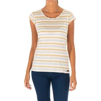 Vêtements Femme T-shirts manches courtes Met un t-shirt court Beige