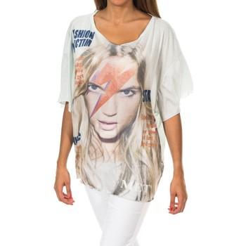 Vêtements Femme T-shirts manches courtes Met Manches courtes Vert