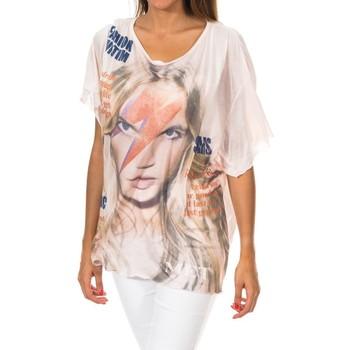 Vêtements Femme T-shirts manches courtes Met Manches courtes Rose