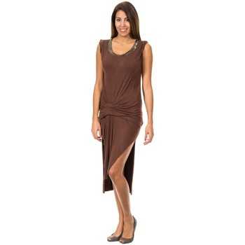 Vêtements Femme Robes courtes Met Largeurs sundress Marron