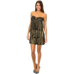 Vêtements Femme Robes courtes Met Habillez avec Ondulé Noir
