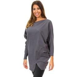 Vêtements Femme Pulls Met Murcielago Jersey Gris
