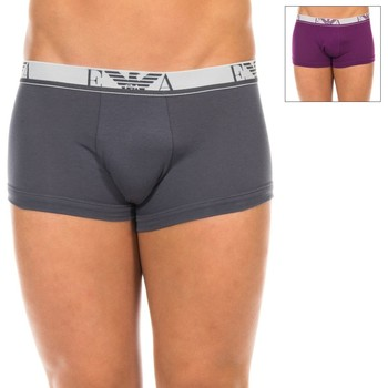 Sous-vêtements Homme Boxers Emporio Armani EA7 Pack-2 Emporio Armani Boxers Multicolore