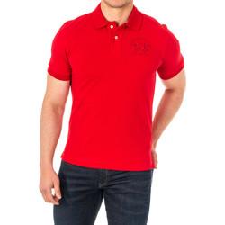 Vêtements Homme Polos manches courtes La Martina Polo manches courtes Rouge