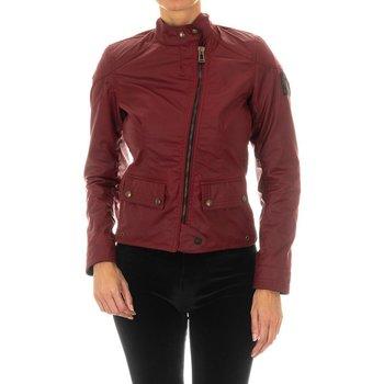 Vêtements Femme Vestes en cuir / synthétiques Belstaff Bradshaw WC6 Veste Rouge