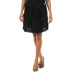 Vêtements Femme Jupes Met jupe plissée Noir