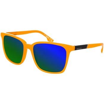 Montres & Bijoux Homme Lunettes de soleil Diesel Sunglasses Lunettes de soleil Diesel Orange