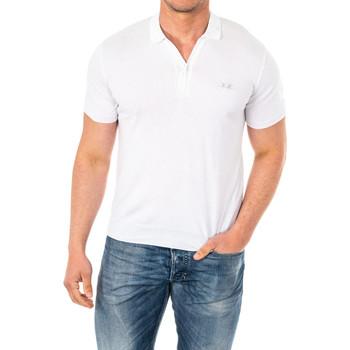 Vêtements Homme Polos manches courtes La Martina Polo m / court Blanc