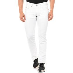 Vêtements Homme Pantalons 5 poches La Martina Jean Blanc