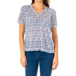 Vêtements Femme Tops / Blouses La Martina T-shirt à manches courtes Bleu