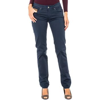 Vêtements Femme Pantalons La Martina Pantalon stretch Bleu