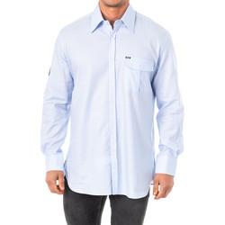 Vêtements Homme Chemises manches longues La Martina M / Chemise longue Bleu