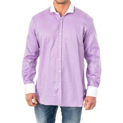 Vêtements Homme Chemises manches longues La Martina M / Chemise longue Violet