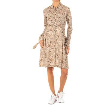 Vêtements Femme Robes courtes La Martina Robe Marron