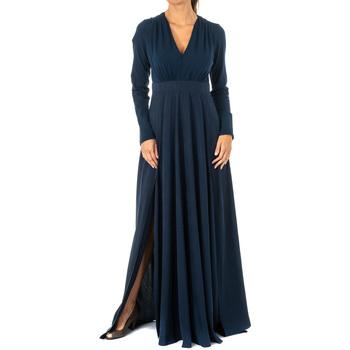 Vêtements Femme Robes longues La Martina Robe Bleu