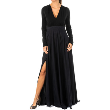 Vêtements Femme Robes longues La Martina Robe Noir