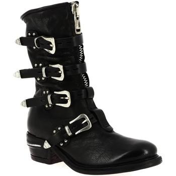 Chaussures Femme Bottes ville As98 512211 NOIR