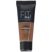 Beauté Femme Fonds de teint & Bases Maybelline New York Fond de teint FIT ME MATTE & PORELESS - 355 Pecan Autres