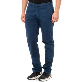 Vêtements Homme Chinos / Carrots La Martina Pantalon coupe chinoise Bleu