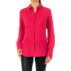 Vêtements Femme Chemises / Chemisiers La Martina Chemise à manches longues Rose