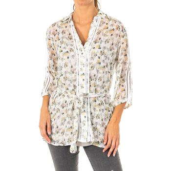 Vêtements Femme Chemises / Chemisiers La Martina Chemise à manches 3/4 Multicolore