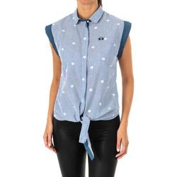 Vêtements Femme Chemises / Chemisiers La Martina Chemise sans manches Bleu