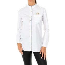 Vêtements Femme Chemises / Chemisiers La Martina Chemise à manches longues Blanc
