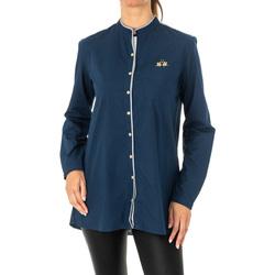 Vêtements Femme Chemises / Chemisiers La Martina Chemise à manches longues Bleu