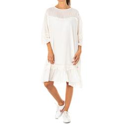 Vêtements Femme Robes courtes La Martina Robe Blanc