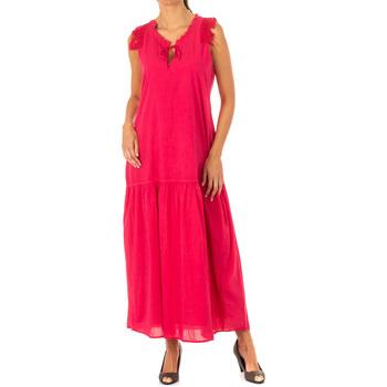 Vêtements Femme Robes longues La Martina Robe Rose