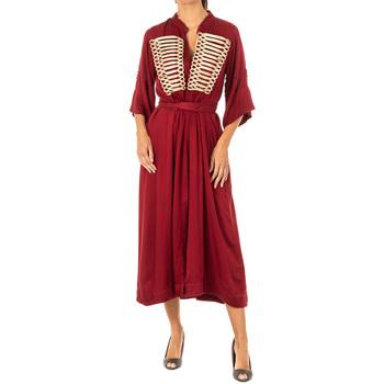 Vêtements Femme Robes longues La Martina Robe Rouge