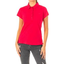 Vêtements Femme Polos manches courtes La Martina Polo manches courtes Rouge