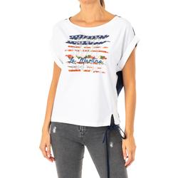 Vêtements Femme T-shirts manches courtes La Martina T-shirt à manches courtes Multicolore