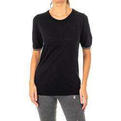 Vêtements Femme T-shirts manches courtes La Martina T-shirt à manches courtes Noir