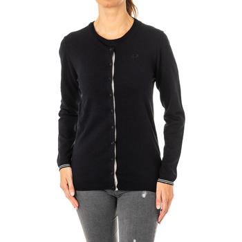 Vêtements Femme Gilets / Cardigans La Martina Veste tricotée Noir