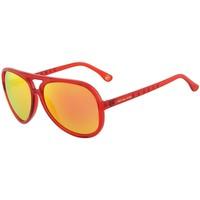 Montres & Bijoux Homme Lunettes de soleil MICHAEL Michael Kors Lunettes de soleil Rouge