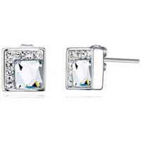 Montres & Bijoux Femme Boucles d'oreilles Blue Pearls CRY E353 J Multicolore