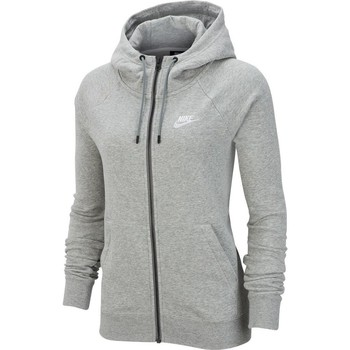 Vêtements Femme Sweats Nike Wmns Essential FZ Fleece Gris
