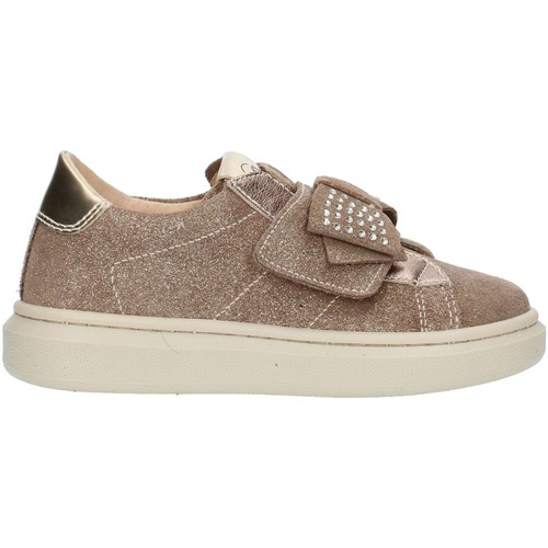 Chaussures Fille Baskets basses Nero Giardini A921214F beige