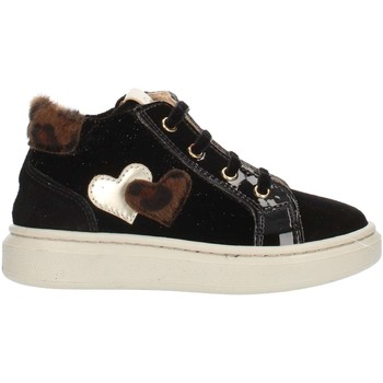 Chaussures Enfant Baskets montantes Nero Giardini A921212F haut Fille Noir Noir