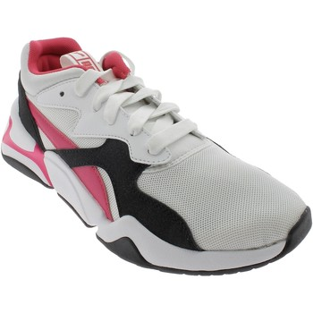 Chaussures Fille Baskets basses Puma NOVA FUNKY JR BIANCHE blanc