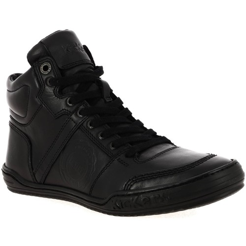 Chaussures Homme Baskets montantes Kickers 508123 noir