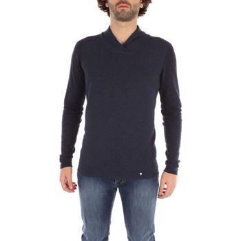 Vêtements Homme Pulls Desigual Guess Pull Otto bleu col chale M74R52