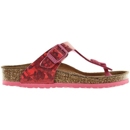 Chaussures Fille Tongs Birkenstock Gizeh Kids Rouge