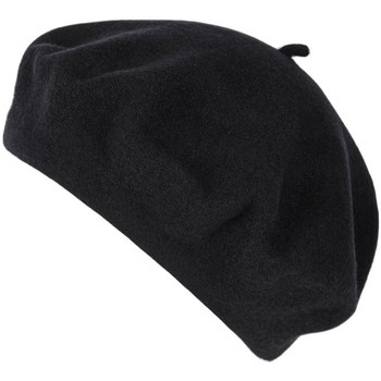 Accessoires textile Femme Bonnets Sacaly Béret Yva Noir