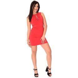 Vêtements Femme Robes courtes Guess Robe femme Aura rouge W64K63