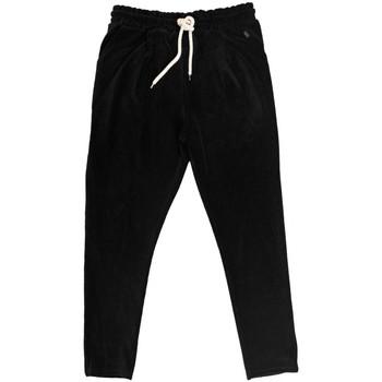 Vêtements Homme Pantalons de survêtement Ko Samui Tailors Pantalon Chenille Basic Noir  KSUPCM BASIC FW1 Noir