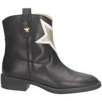 Chaussures Fille Bottines Florens F850371V Noir / Or