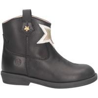 Chaussures Fille Bottines Florens E750371V Noir / Or